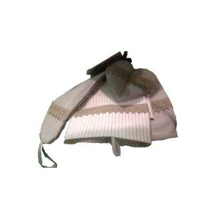 Handduk vintage randig