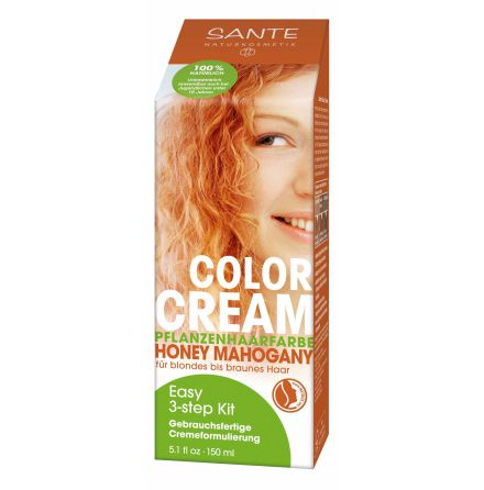 Color cream honey mahogany