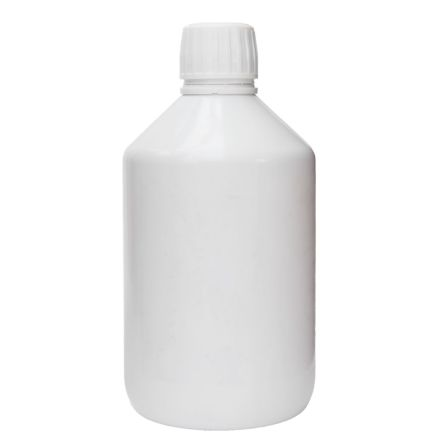PET-flaska vit 500 ml