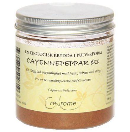 Cayennepeppar ekologisk, pulver