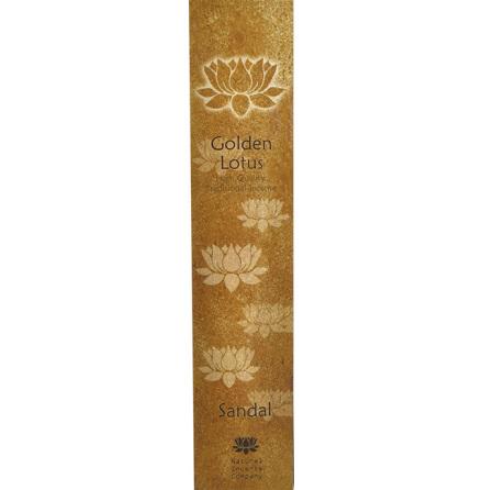 Rökelse Golden Lotus - Sandal