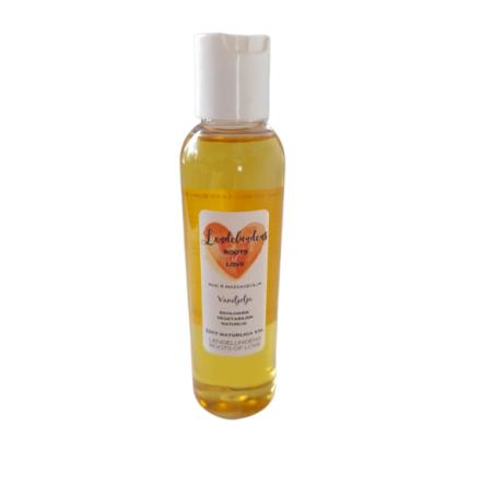 Kropps & massage olja vanilj