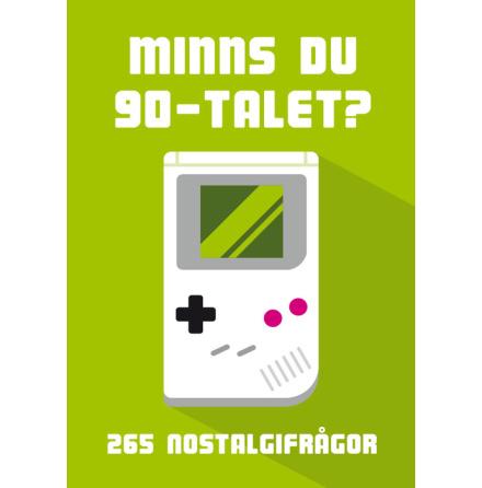 Minns du 90-talet?