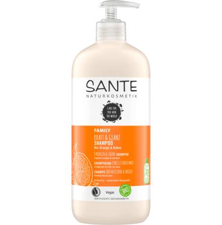 Strenghtening Shampoo eko orange & coconut 950 ml