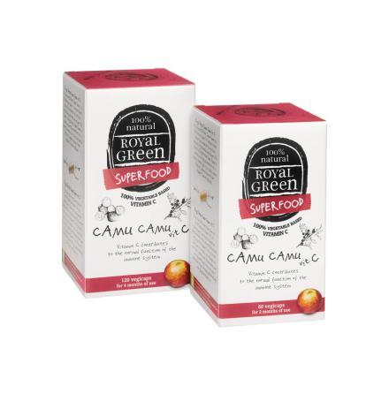 Camu Camu vitamin C kapslar