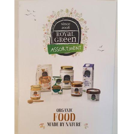 Broschyr Food Royal Green ENG