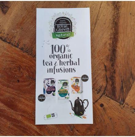 Broschyr Teblad Royal Green ENG