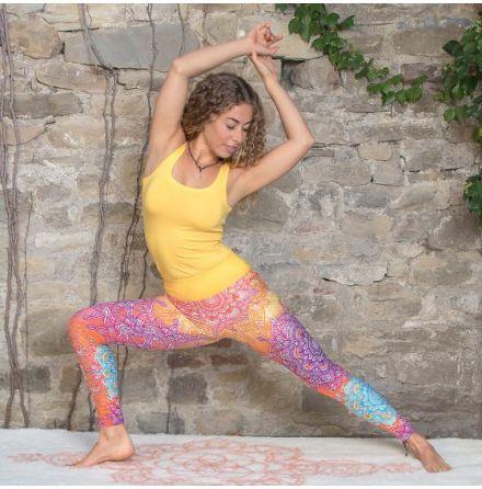 Yoga Leggings Rainbow