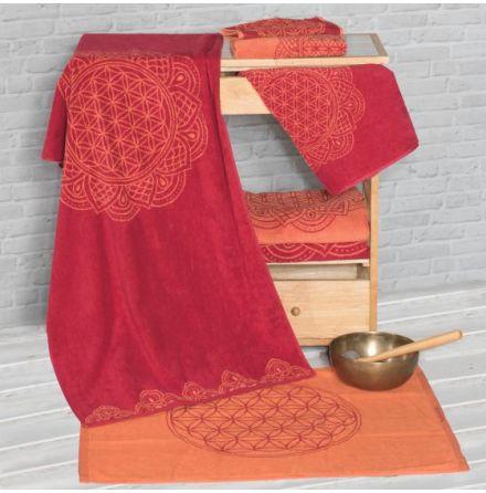 Handduk Ruby/Coral