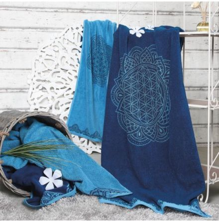 Handduk Ocean blue/Azure
