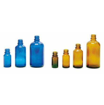 Glasflaska blå - 50 ml