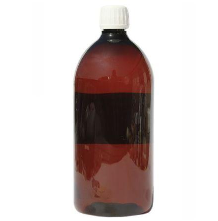 PET-flaska brun - 1 liter